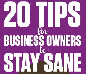 20 Tips to stay sane